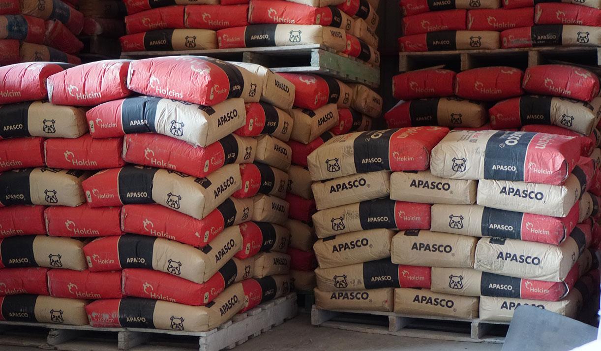 Sacos de cemento a bajo costo