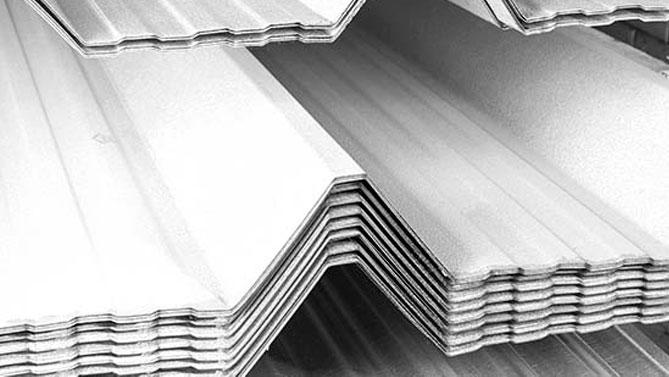 lamina estructural galvanizada para techo