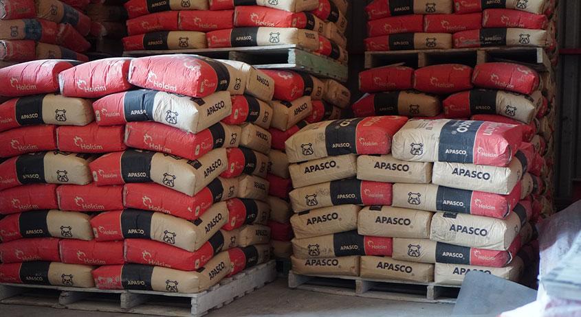 Sacos de cemento Apasco